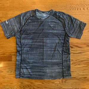 Nike Dri-Fit Miler Running Workout Shirt Size XL